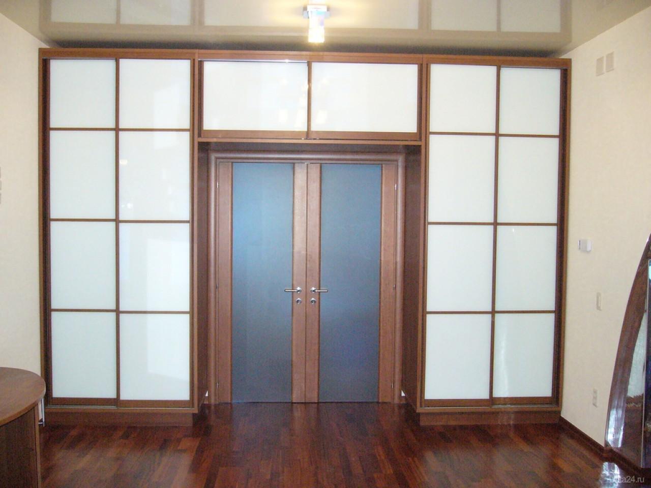Шкаф-купе вокруг дверного проема: выбор дизайна в 75 фото.