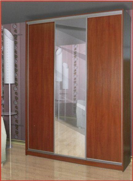 Шкафы-купе 3-х дверные из дерева