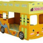 Школьный автобус кровать для двух детей