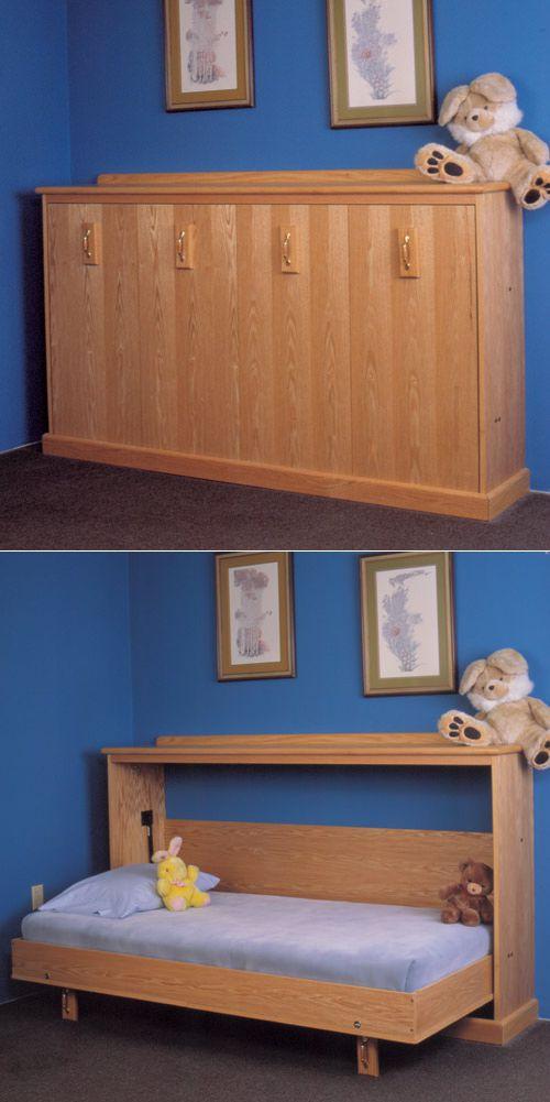 Детская кровать с ящиками своими руками, пример чертежей и