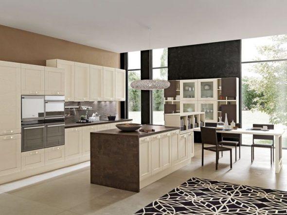 Встроенные кухонные гарнитуры