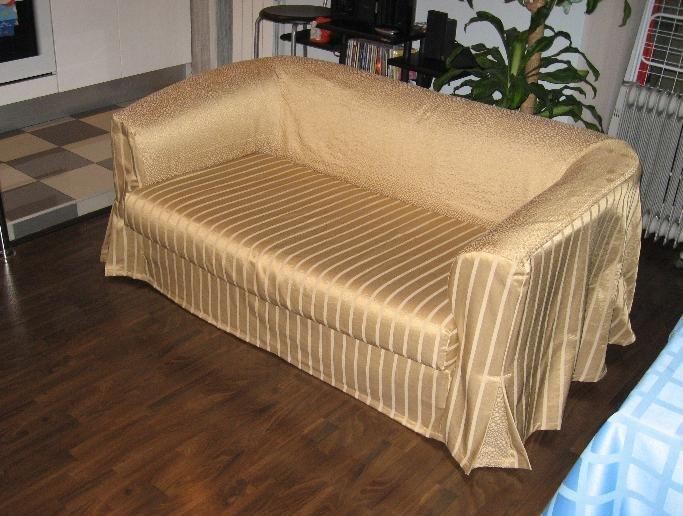 Как сшить покрывало на диван  фото