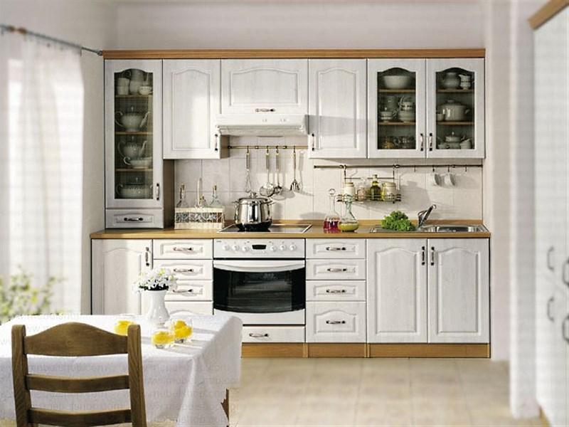 кухни с белым гарнитуром фото