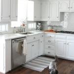 белый цвет кухонного гарнитура