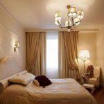 бра над кроватью в спальне фото