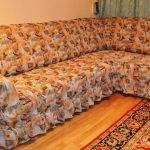 чехол на большой диван