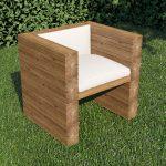 дачное кресло из ореха