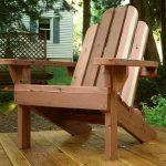 дачное кресло из досок