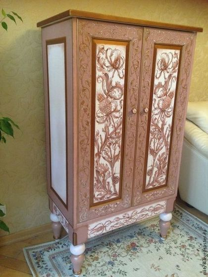 Реставрация кухонного старого шкафа своими руками фото 278