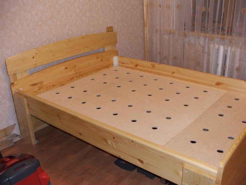 Как сделать кровать своими руками в домашних условиях фото и чертежи