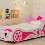 кровать машина для девочки