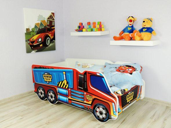 детская кровать грузовик