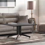 диван серый замшевый