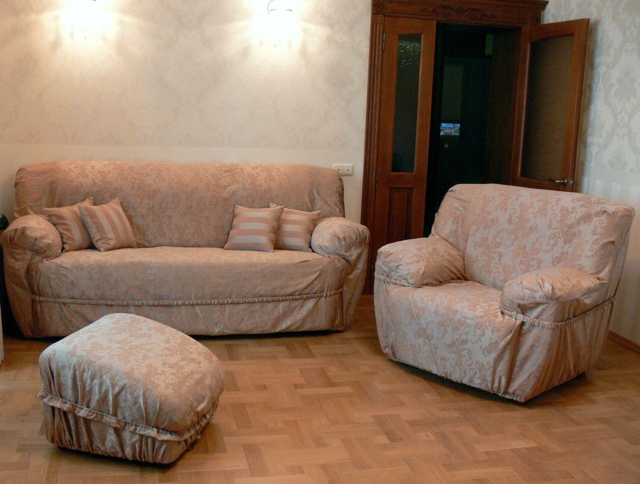 Универсальные чехлы для мебели своими руками