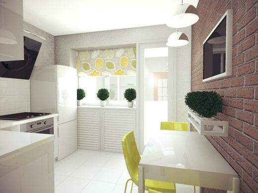 минимализм кухня