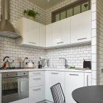 дизайн кухни 6 квадратных метров светлый