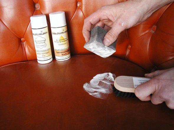 домашние способы чистки кожаного дивана
