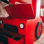 двухъярусная кровать - автобус детская