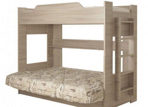 двухъярусная кровать для взрослых фото