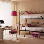 двухъярусная кровать кованая