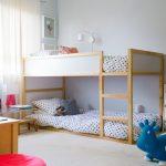 двухъярусная кровать низкая