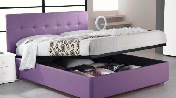 двуспальная подъемная кровать