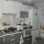 интерьер кухни 6 кв.м.