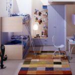 экономия пространства в маленькой детской