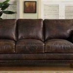 кожаный диван на заказ