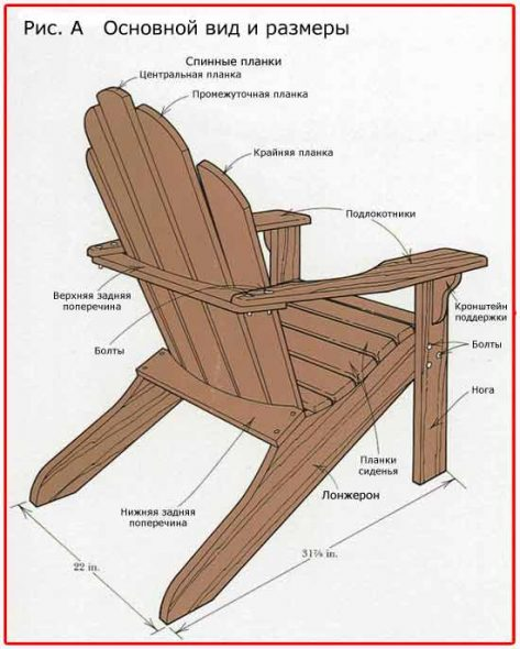 Кресло волна своими руками фото 663