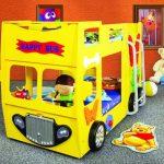 кровать автобус для детей