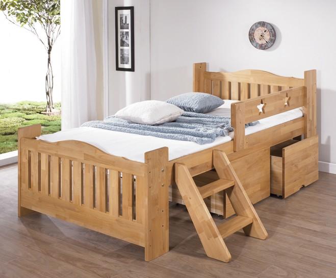 Кровать для детей из дерева своими руками фото8