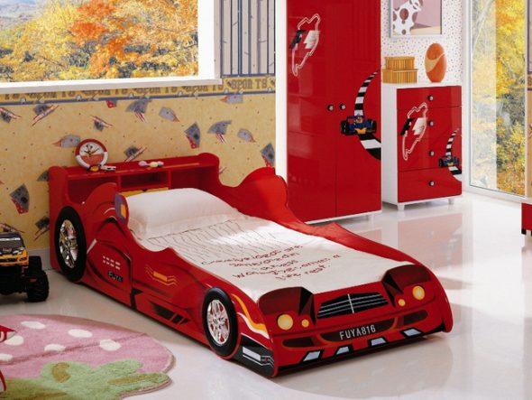 кровать машина гоночная
