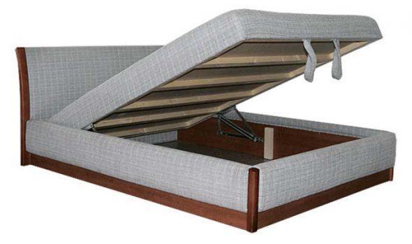 кровать с пружинным подъемом