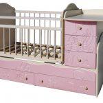 кровать-трансформер для девочки