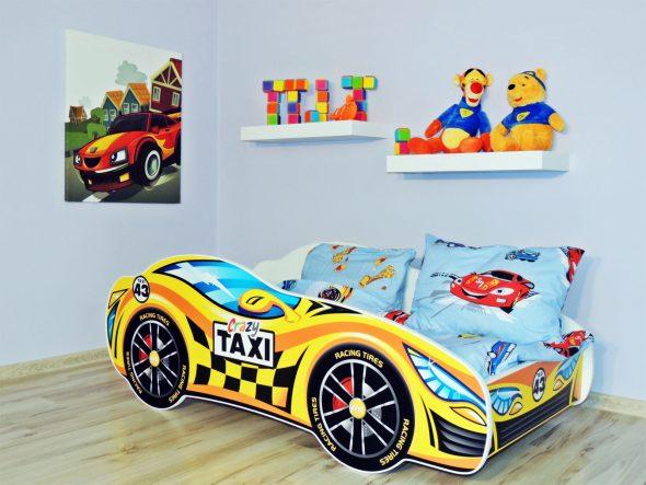 кровать машина такси