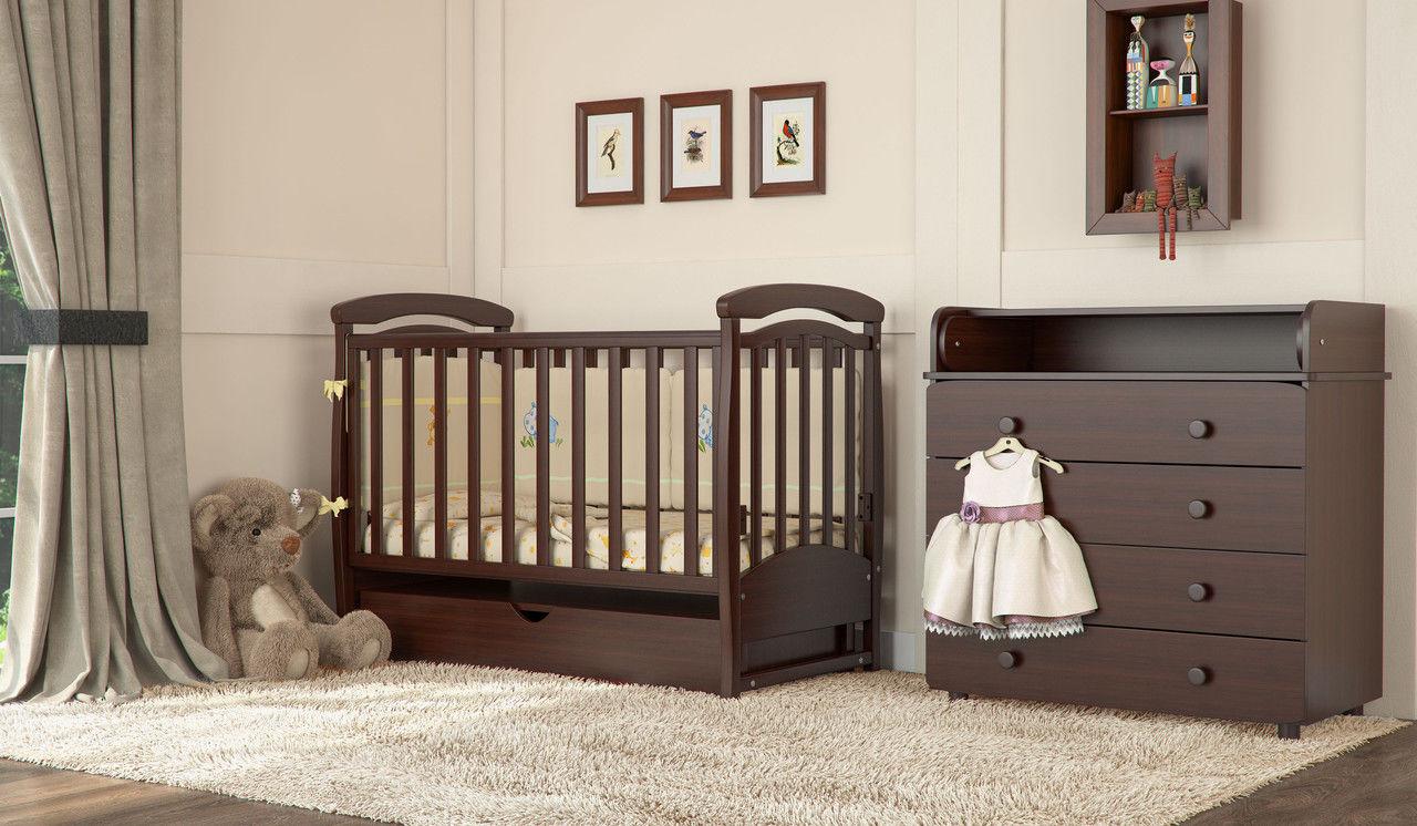 Кроватки для новорожденных — выбираем безопасную и удобную кровать для малыша ( фото).