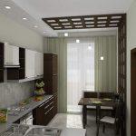 кухонный гарнитур в интерьере кухни фото