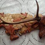 настенная вешалка рога