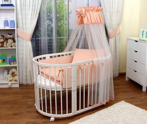 овальная кроватка