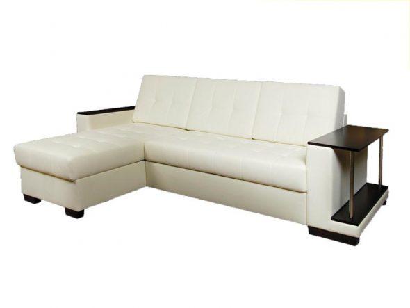 почистить светлый кожаный диван