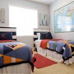 принципы расположения кровати