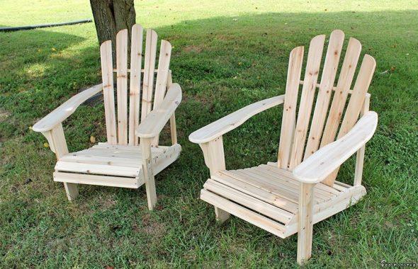 Деревянные стул кресло своими руками 37
