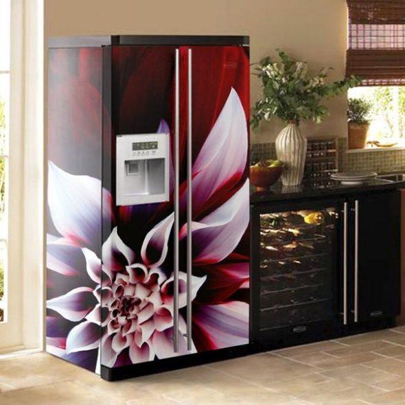 самоклейка на холодильник