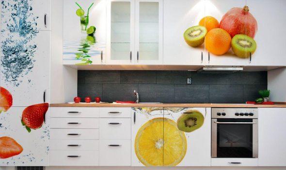 самоклейка на кухне