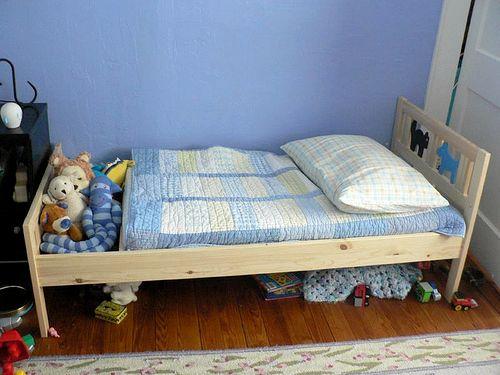сделать кровать для детей