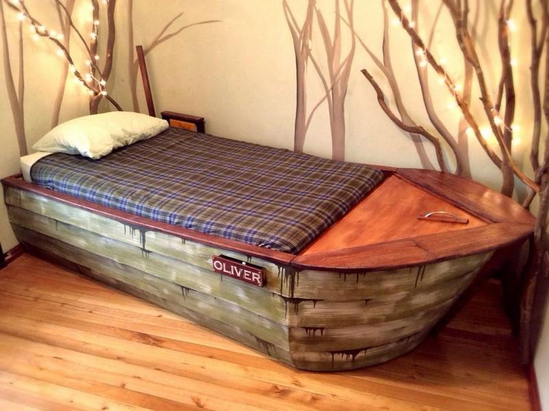 Идеи как сделать кровать своими руками 324