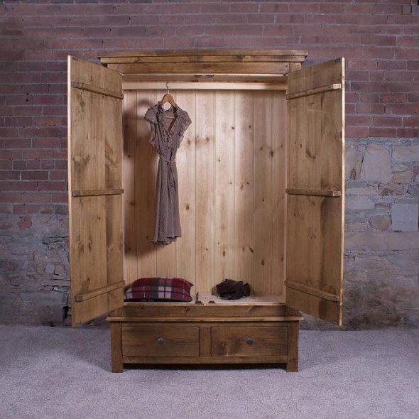 шкаф из массива дерева своими руками