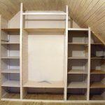 шкаф под потолок