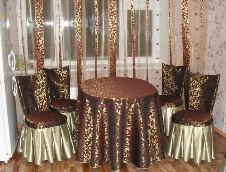 Сшить праздничные чехлы на стулья 30
